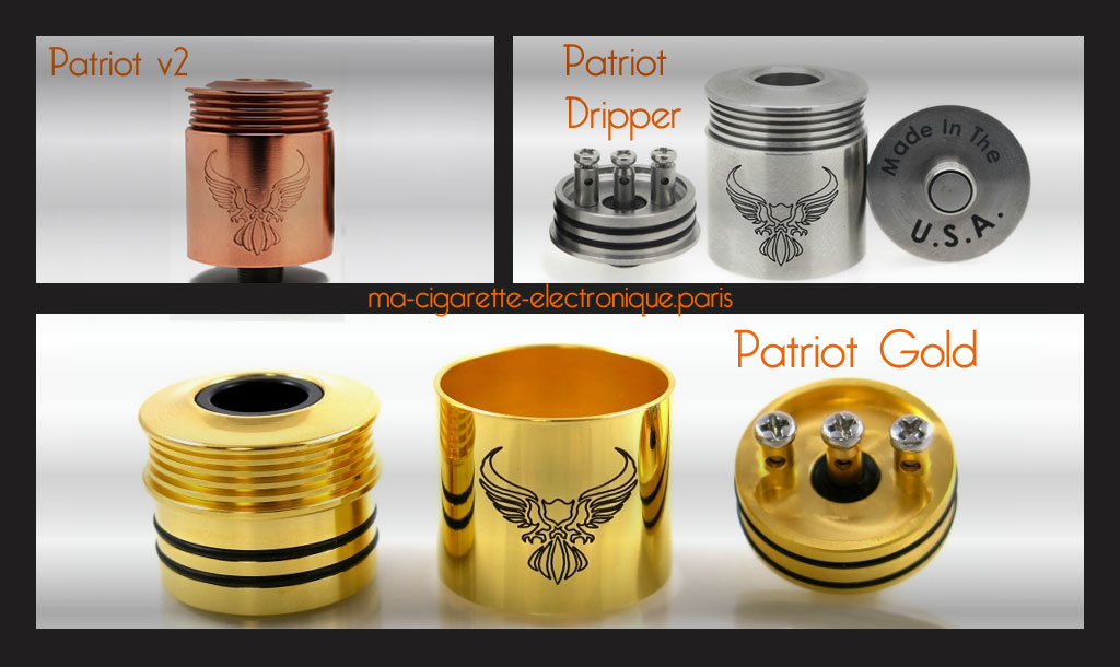Atomiseur RDA - Dripper Patriot